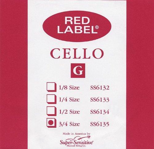 Cello G String 3/4