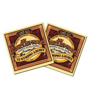 earthwood 12 string lightErnie Ball 2010 Earthwood 12 String Light Acoustic Guitar Strings 9-46 2 Pack