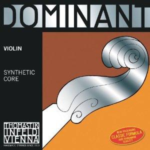 Thomastik Dominant Violin Strings, Complete Set, 135MS, 4/4