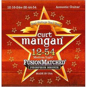 Curt Mangan Guitar Strings Phosphor Bronze 12-54