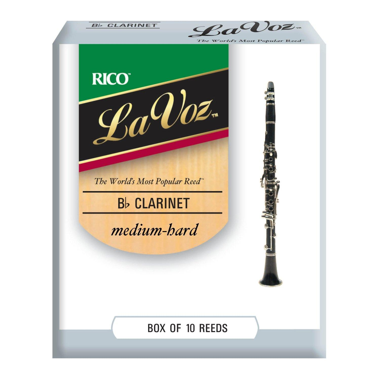 La Voz Clarinet Reeds Box of 10