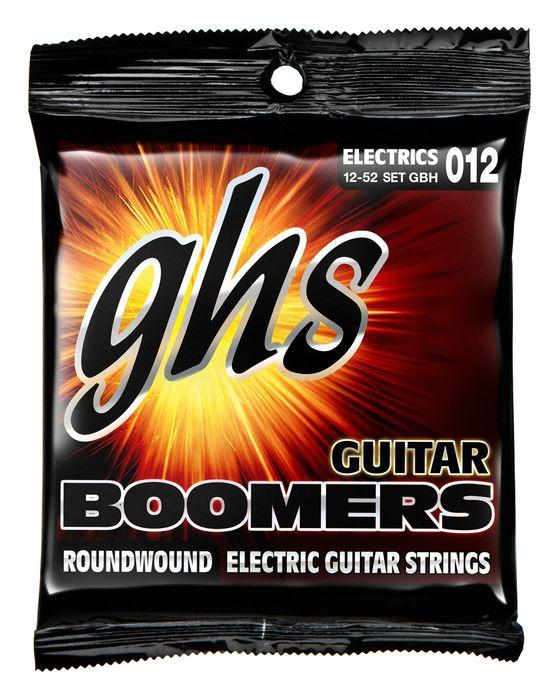 GHS GBH Heavy Boomers Electric Guitar Strings (12-52)