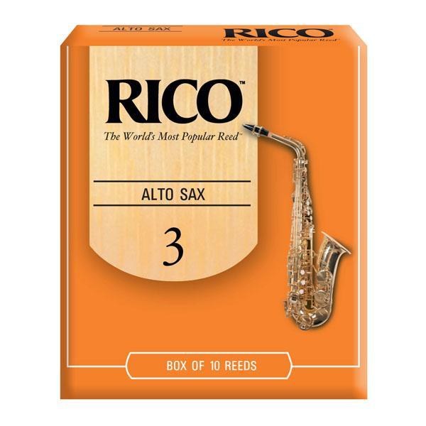 Rico Alto Sax Reeds Box of 10