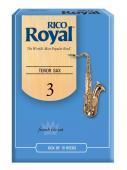 Rico Royal Tenor Sax (French File Cut) Box of 10