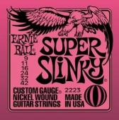 Ernie Ball 2223 Super Light Slinky Electric Guitar Strings (9-42)