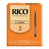 Rico BRico Bb Clarinet Reeds, Strength 2.0, 10-pack b Clarinet Reeds, Strength 2.0, 10-pack