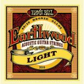 Ernie Ball 2004 Earthwood 80/20 Bronze Acoustic String Set, Light (11 - 52)