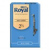 Rico Royal Bass Clarinet Box of 10